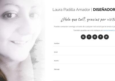 Diseño web Personal para mi propia historia en el mundo Laboral