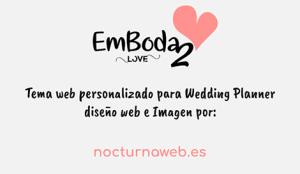 diseño web para bodas