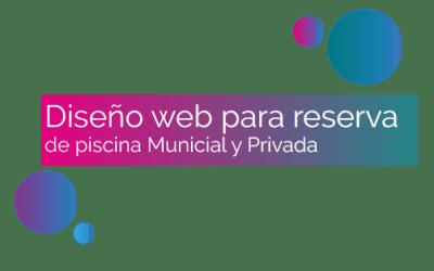 Diseño web para reserva de Piscina Municipal y Gestión privada
