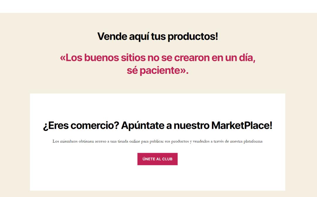 Vallecas Marketplace vender online