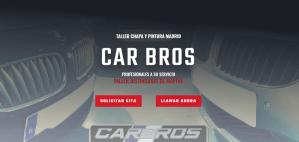 Diseño web Car Bros Taller Madrid