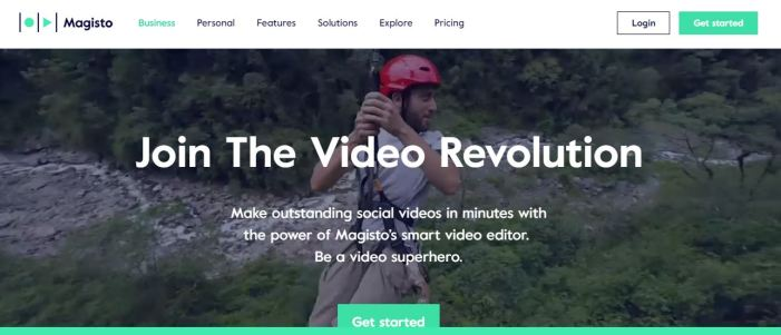 Editor de vídeo Magisto