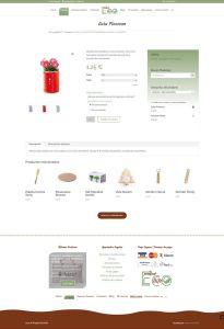 Diseño web Tienda online ecológica