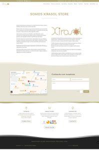 Diseño web tienda online de complementos ecológicos Xirasol.es