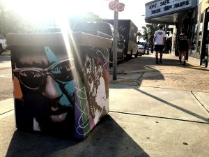 New street art installation pays homage to legendary NC-born musicians