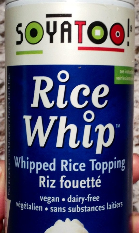 Product Highlight: Soyatoo! Rice Whip