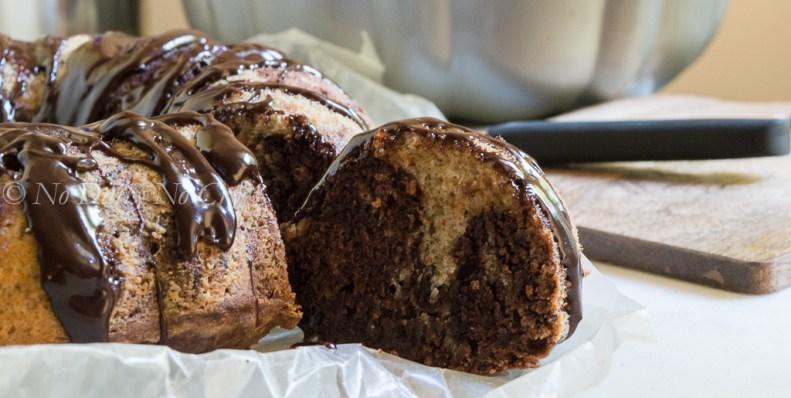 Tahini Marble Cake2