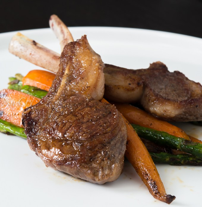 Mouthwatering Rack of Lamb
