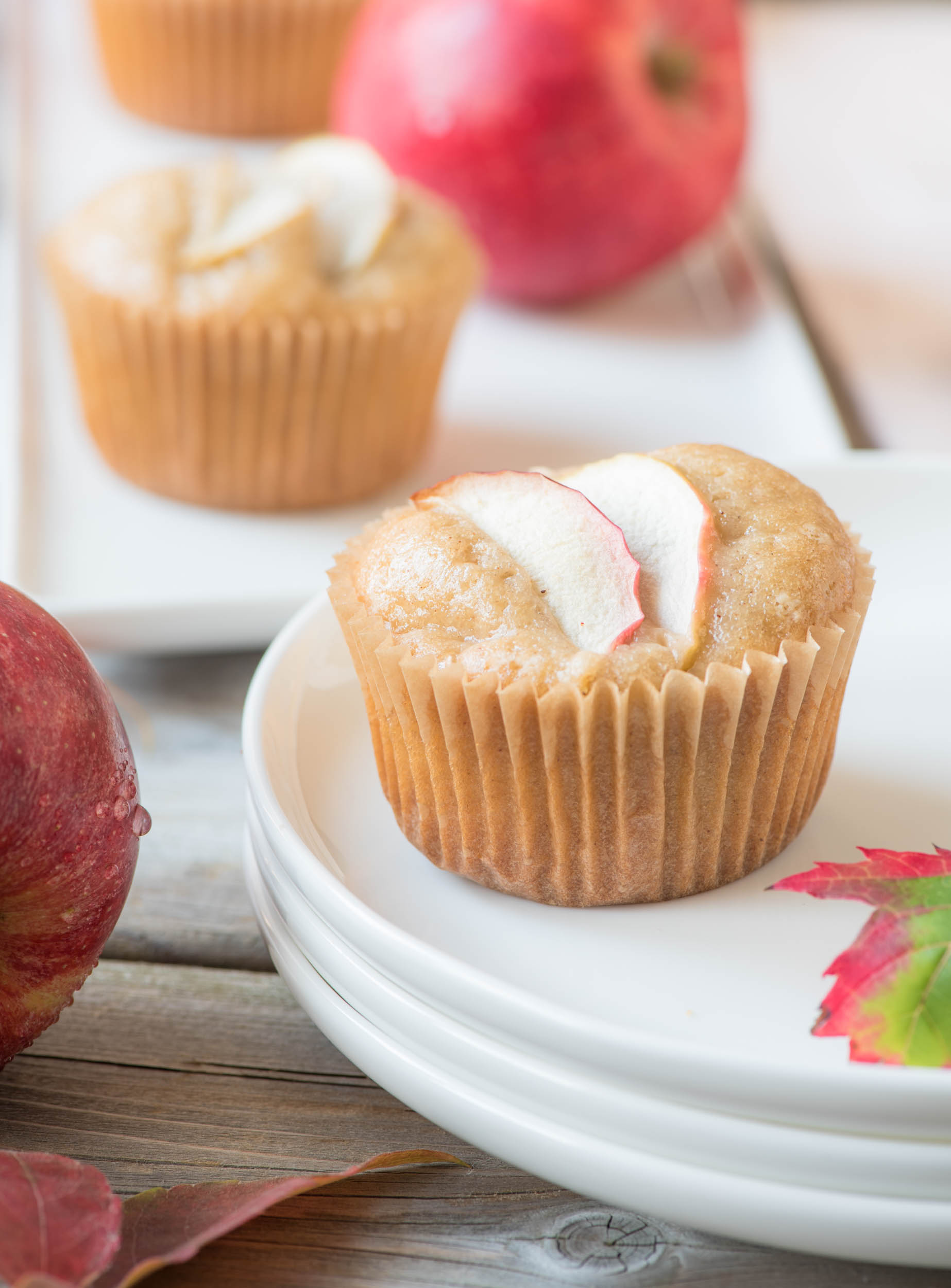 Apple Caramel {Cup}Cakes10