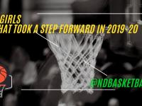 What Class B girls teams took a step forward in 2019-20?