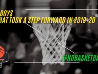 What Class B boys teams took a step forward in 2019-20?