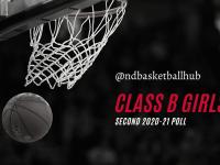 2nd (12/21) Class B Girls Poll