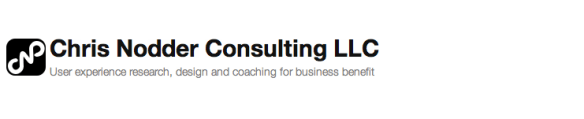 Chris Nodder Consulting, LLC: User Experience research, design and coaching
