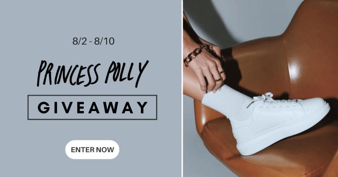 Win a $100 Visa e-gift card from Princess Polly.