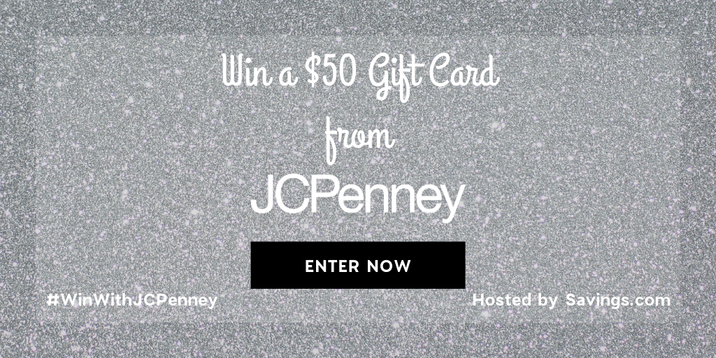 Win a $50 JCPenney gift card!