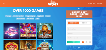 Slotty Vegas Casino - Games