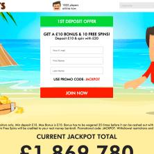 Island Jackpots - Homepage