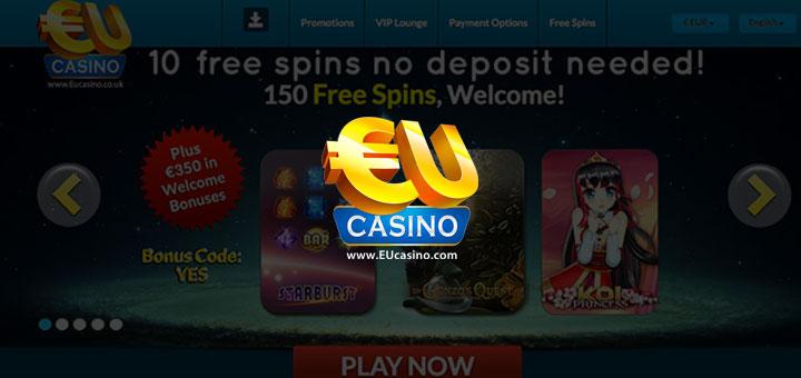Eu casino no deposit bonus