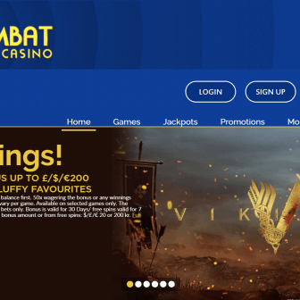 Wombat Casino - Homepage