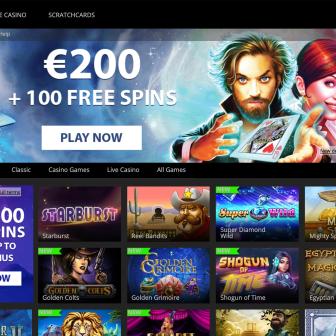 Mr Favorit Casino Homepage