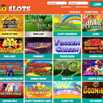 Amigo Slots Casino lobby