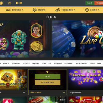 Melbet Casino - Homepage
