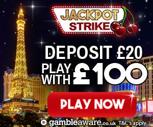 Jackpot Strike Casino Bonus
