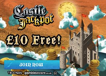 Castle Jackpot £10 no deposit bonus