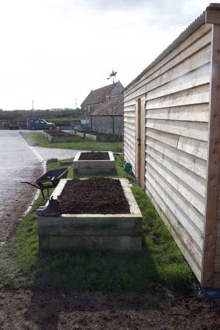 two of the three smaller beds