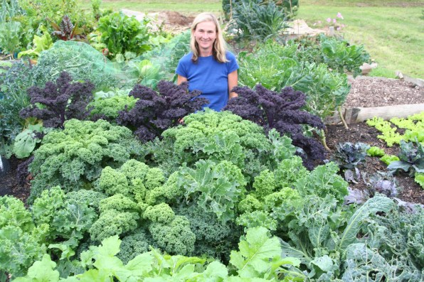A 14 Steph with kale