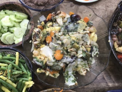 roasted veg with cabbage