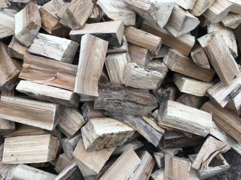 logs for the woodburner