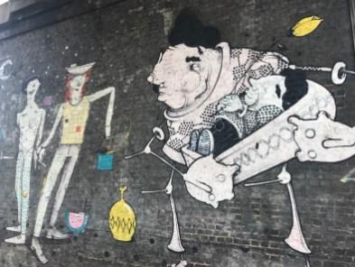 graffiti near Camden