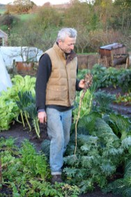 Charles' parsnip with an impressively long root