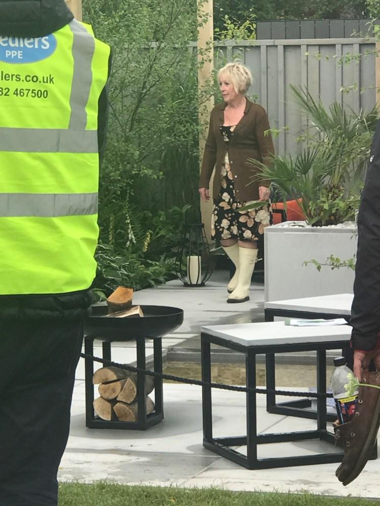 filming for Gardeners' World