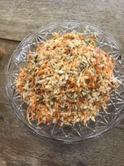 toasted cumin spiced vegetable salad