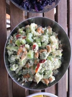 cashew waldorfish salad