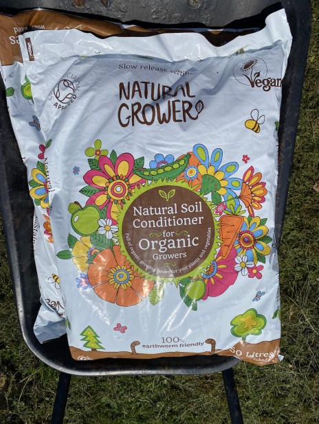 Natural Grower compost