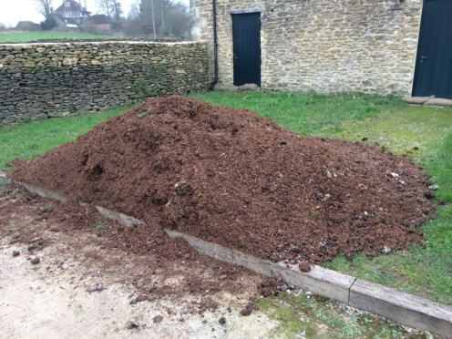 smaller pile beside the 4 beds