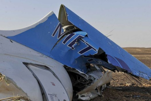 The-remains-of-a-Russian-airliner-which-crashed-is-seen-in-central-Sinai-near-El-Arish-city-1