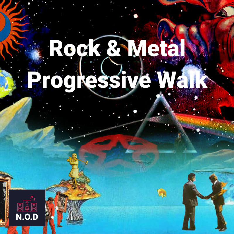 Discover Playlists Artwork: Rock & Metal Progressive Walk