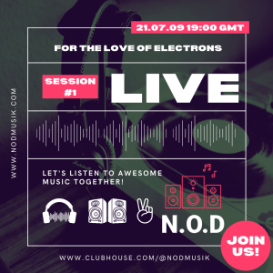Music Live Stream, For the Love of Electrons #1