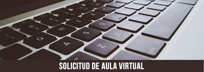 Solicitud de aula virtual