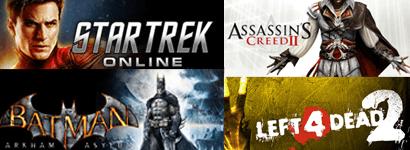 Algunos títulos disponibles en Steam