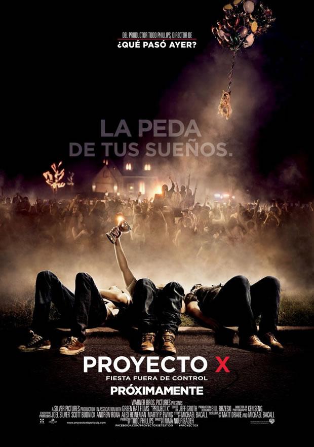 Notas de producción: Proyecto X