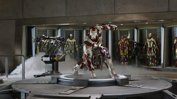"""Marvel's Iron Man 3""..Tony Stark/Iron Man (Robert Downey Jr.)..Ph: Film Frame..© 2012 MVLFFLLC. TM & © 2012 Marvel. All Rights Reserved"