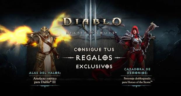 regalos Diablo III Reaper of Souls Blizzard