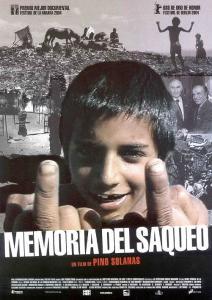 MEMORIA DEL SAQUEO