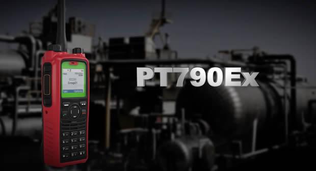TETRA PT760Ex El radio más seguro del mundo