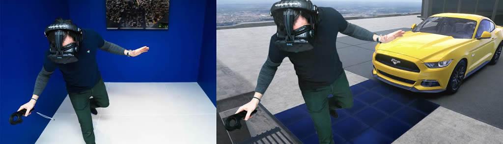 """Ford crea experiencia de realidad virtual inmersiva """"Mustang sobre Manhattan"""""""